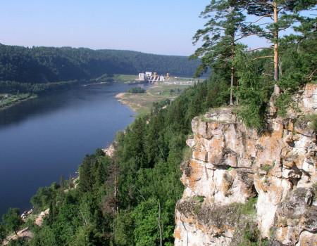 Павловское водохранилище в Башкирии