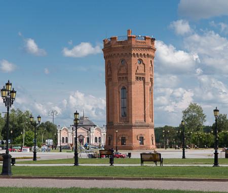 В водонапорной башне в Тобольске откроют кафе и смотровую площадку