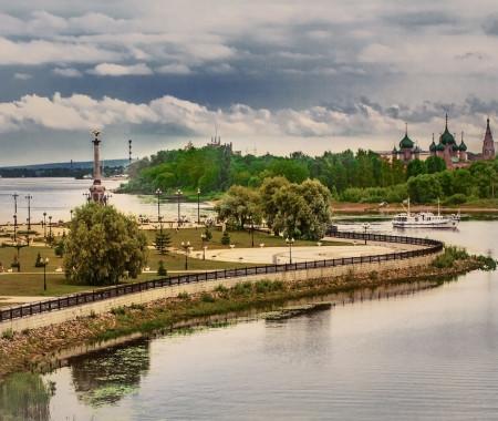 Неожиданный Ярославль:лето на Волге