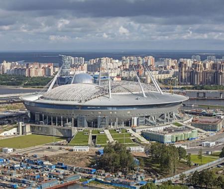 Чемпионат Европы 2021 по футболу в Санкт-Петербурге